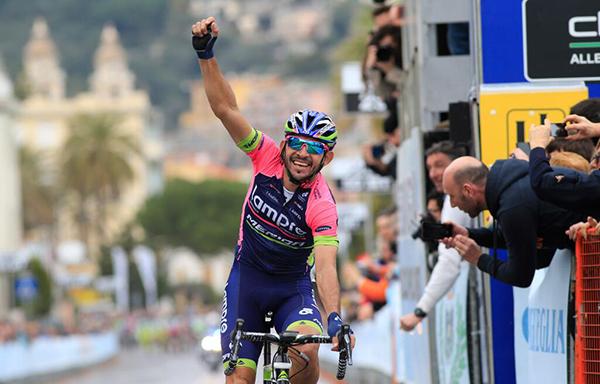Jose Serpa al Trofeo Laigueglia 2014