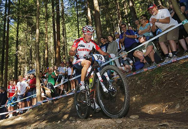 Karl Markt agli UCI Mountain Bike and Trials World Championships