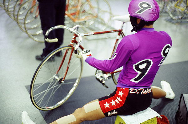 Keirin stretching