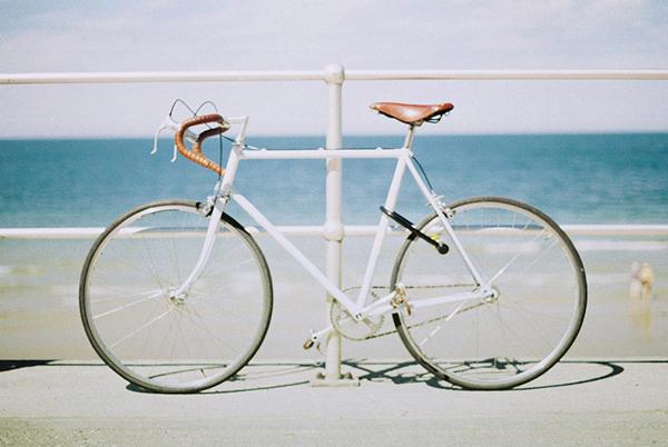 Foto Kodak di una bici