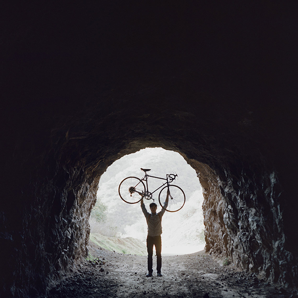 La bici in fondo al tunnel