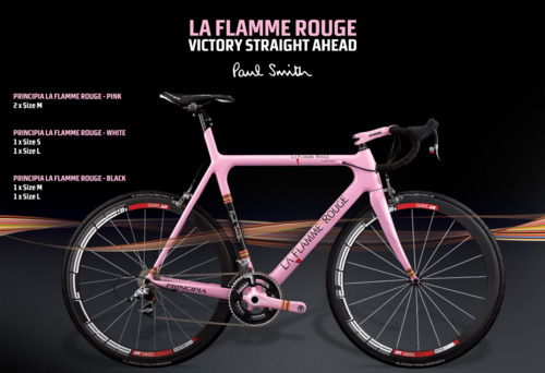 La Flamme Rouge - Principia e Paul Smith