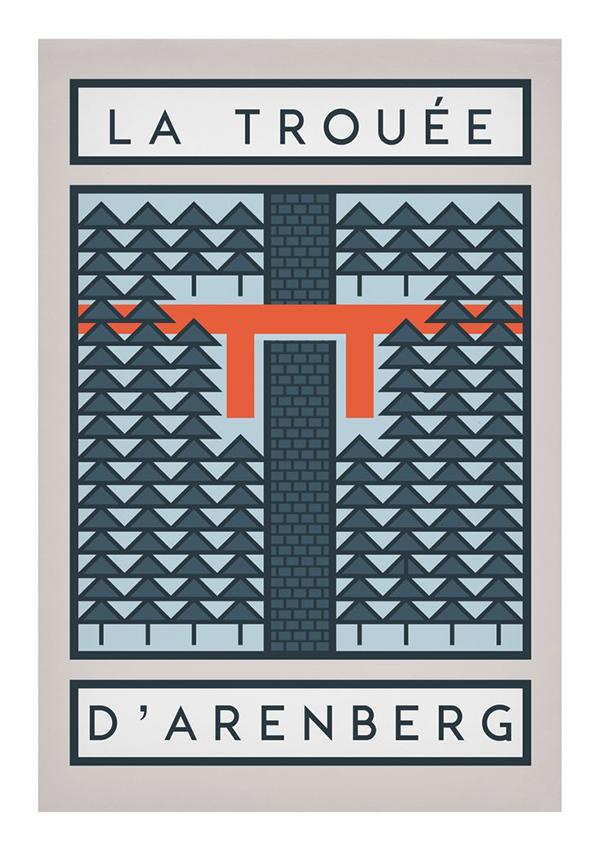 La Trouée d'Arenberg poster
