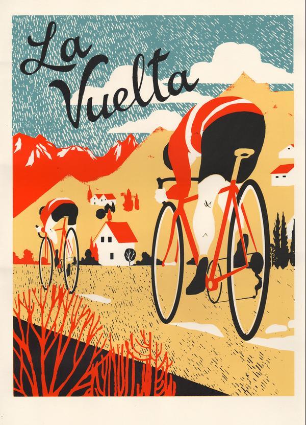 La Vuelta poster