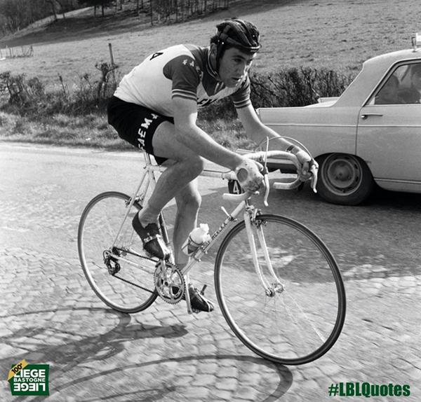 La prima Liegi-Bastogne-Liegi di Eddy Merckx