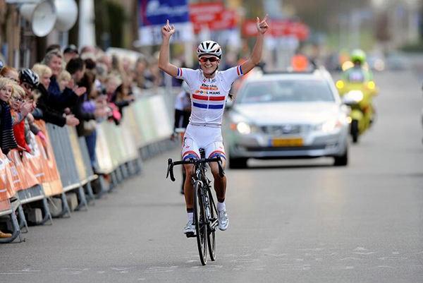 Lizzie Armitstead alla Ronde Van Drenthe