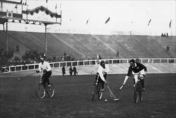 Il bike polo ai Giochi Olimpici di Londra 1908