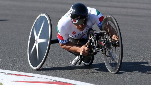 Alex Zanardi alle Paralimpiadi di Londra 2012