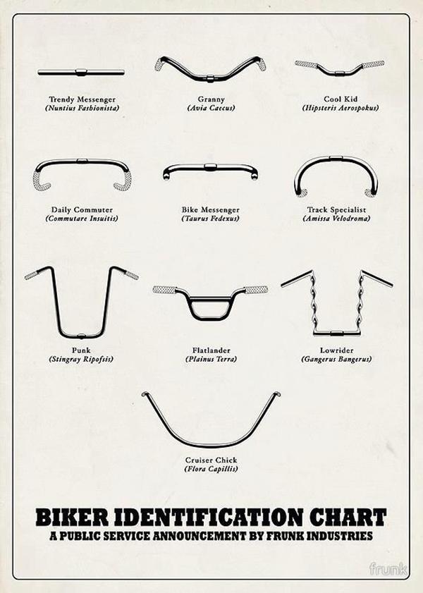 Classificazione dei manubri