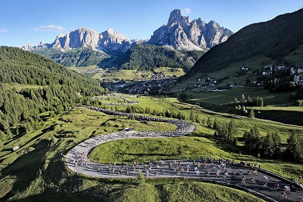 La Maratona dles Dolomites 2014