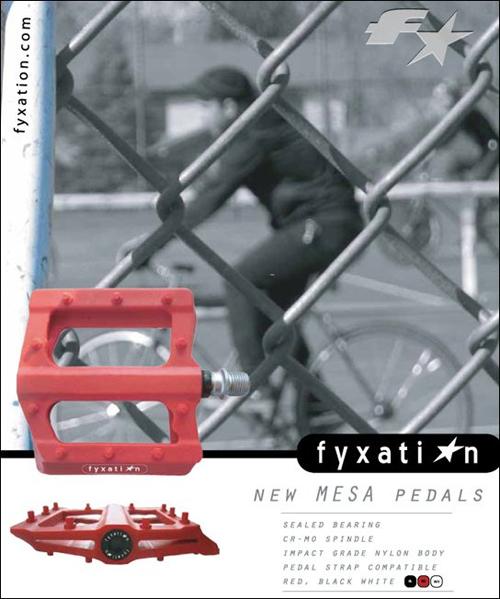 Mesa pedals
