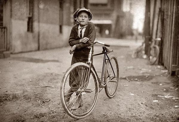 Messenger boy della Mackay Telegraph Company