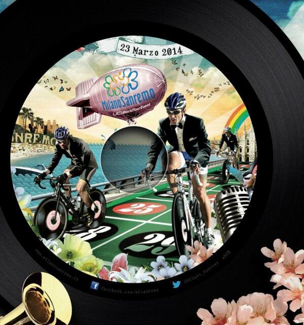 La Milano-Sanremo 2014 in un disco
