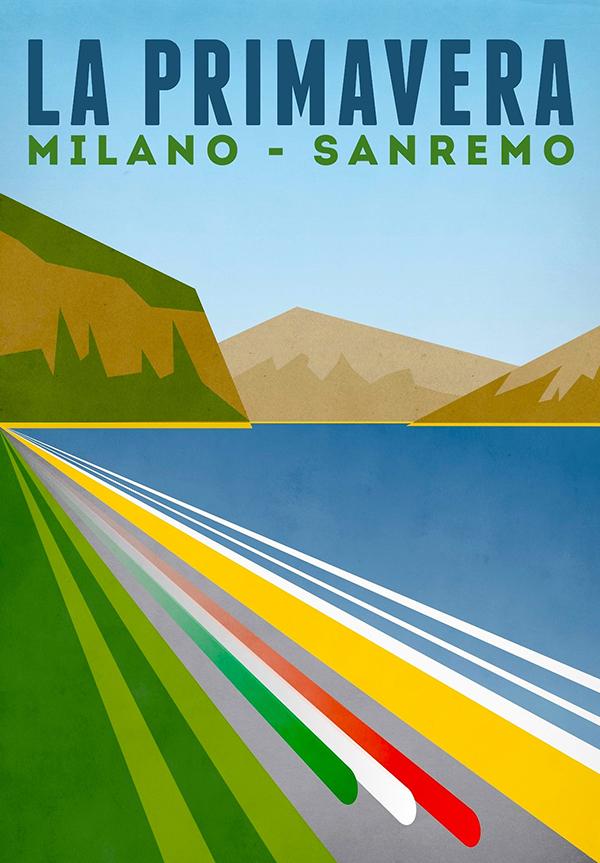 Manifesto Milano-Sanremo