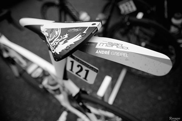 Parafango sulla bici di Greipel alla Milano-Sanremo 2014