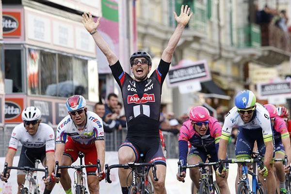 John Degenkolb alla Milano-Sanremo 2015