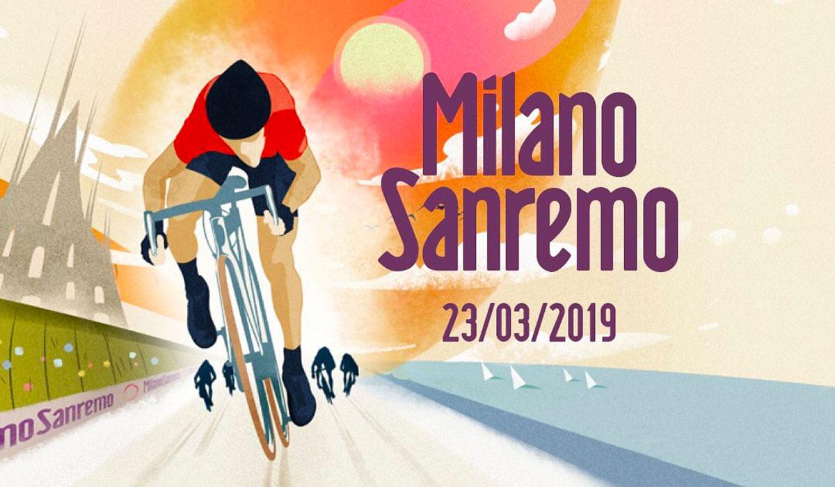 Poster della Milano-Sanremo 2019