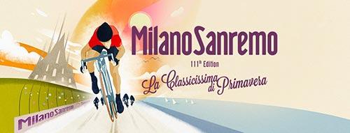 Locandina della Milano-Sanremo 2020