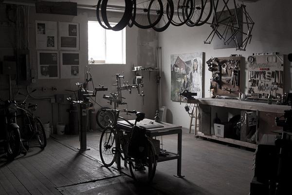 Un negozio di bici
