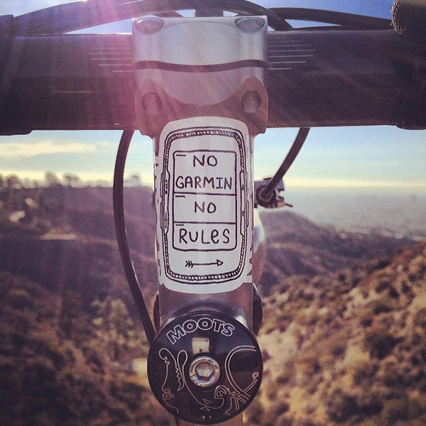 No Garmin No Rules