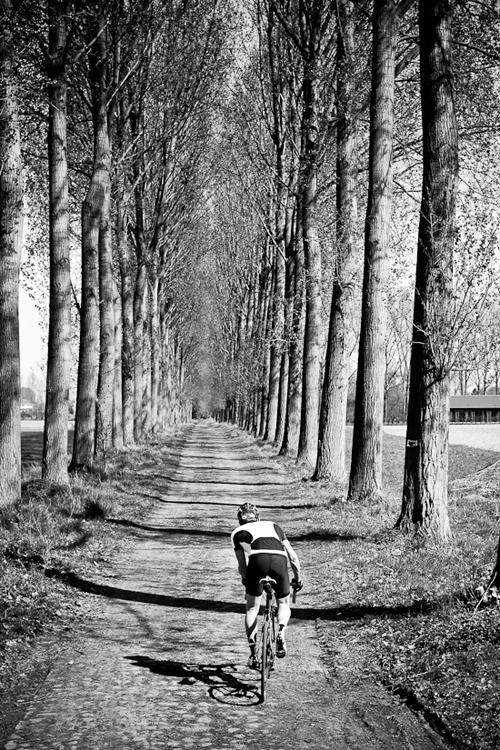 Sulle strade della Parigi-Roubaix