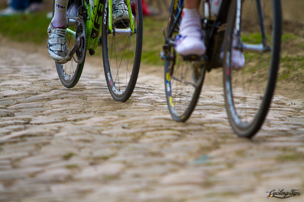 Il pavé alla Parigi-Roubaix