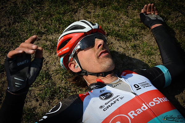 Fabian Cancellara alla Parigi-Roubaix 2013