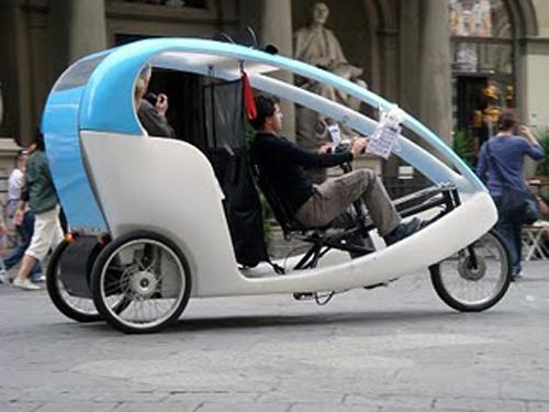 Pedicab a Firenze