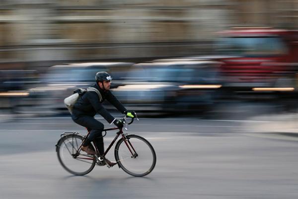 Pendolare in bici a Londra