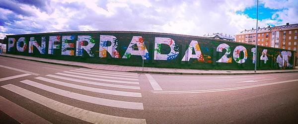 Murales per Ponferrada 2014