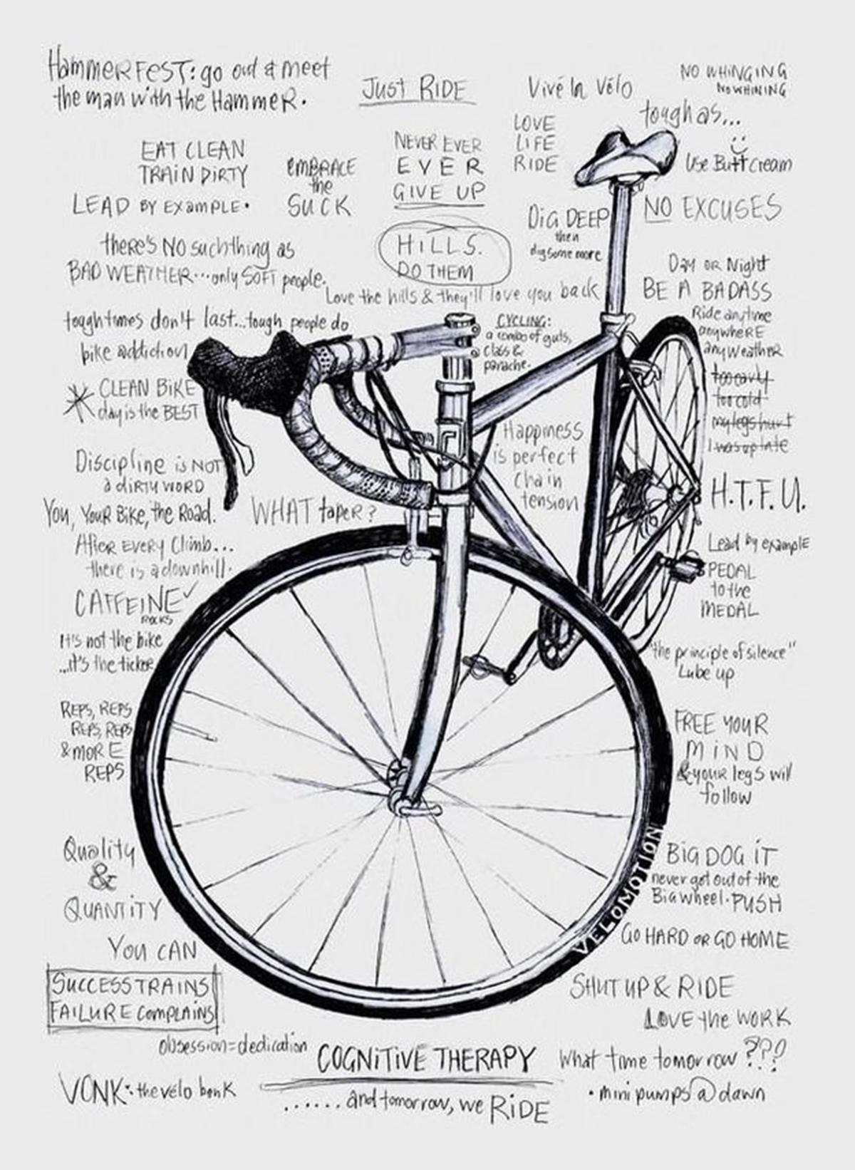 Psicologia cognitiva applicata alla bicicletta