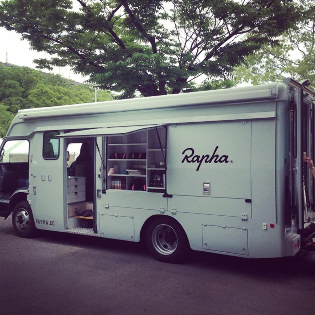 Il furgone di Rapha