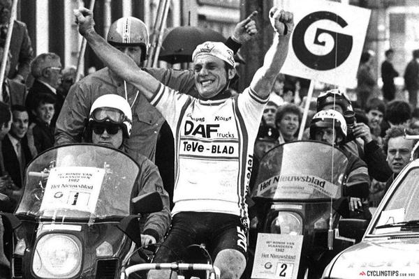 Rene Martens al Ronde Van Vlaanderen 1982