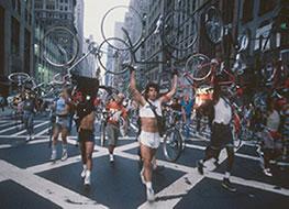 New York sciopero dei messenger 1987