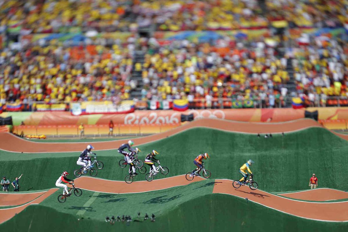 I dossi del percorso della MTB a Rio 2016
