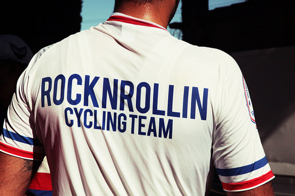Maglietta Rock'n'Rollin Cycling Team