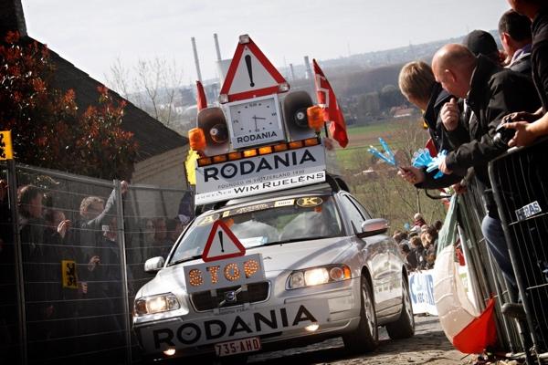 Auto Rodania al Giro delle Fiandre