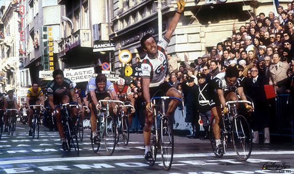Roger de Vlaminck alla Milano-Sanremo 1979
