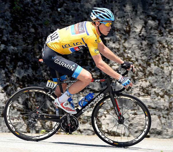 Rohan Dennis al Critérium du Dauphiné