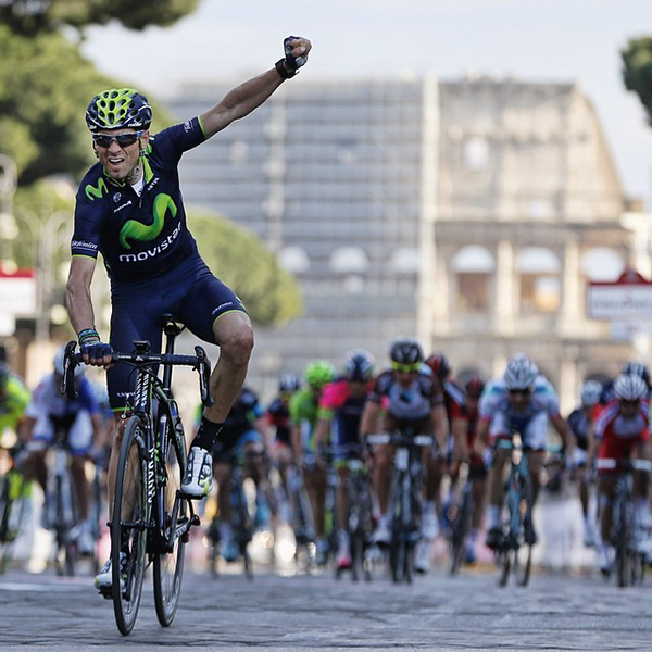 Alejandro Valverde alla Roma Maxima 2014