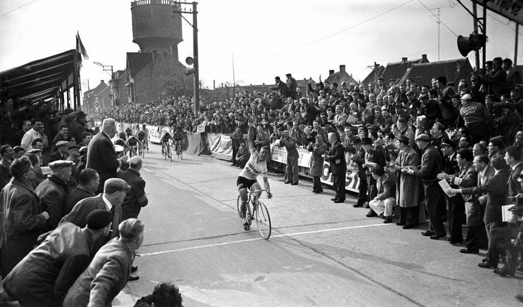Fred De Bruyne al Giro delle Fiandre 1957