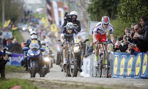 Kristoff e Terpstra alla Ronde van Vlaanderen 2015
