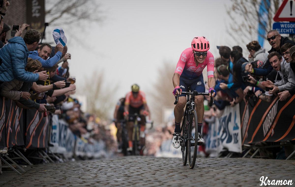 Alberto Bettiol al Ronde van Vlaanderen 2019