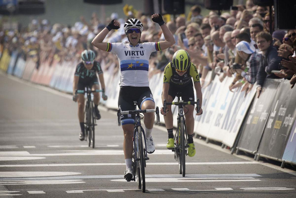 Marta Bastianelli alla Ronde van Vlaanderen voor Vrouwen 2019