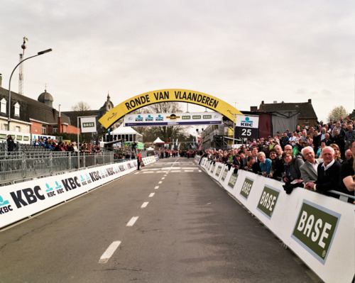 L'arrivo del Giro delle Fiandre