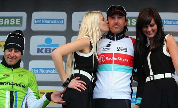 La palapatina di Sagan al Giro delle Fiandre