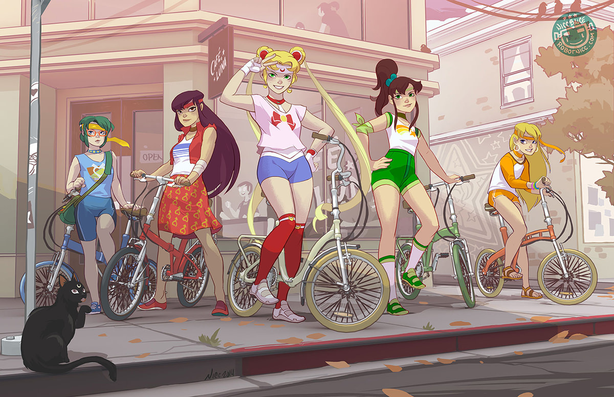 Sailor Moon bishojo senshi hipster
