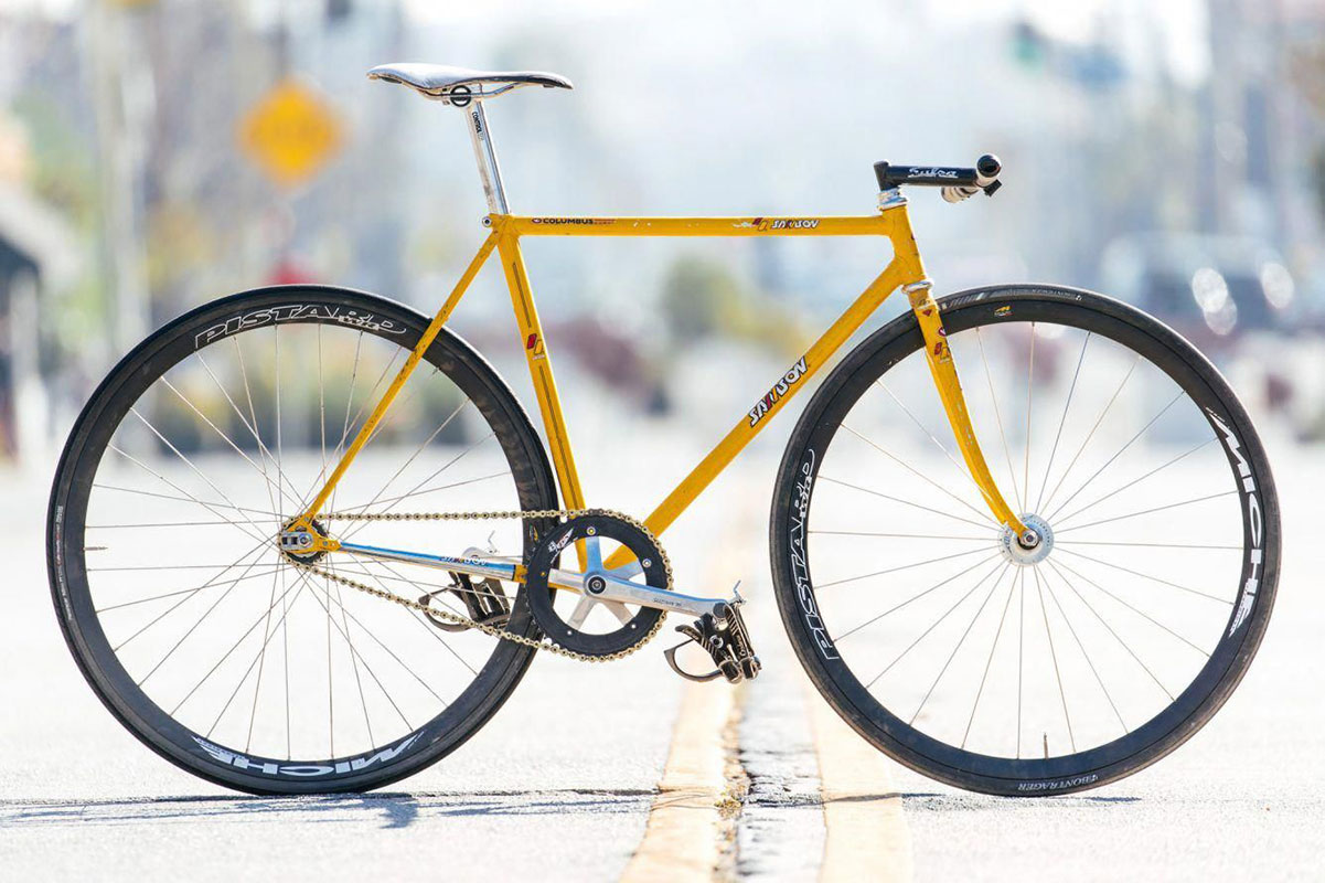 Samson Street Track Bike