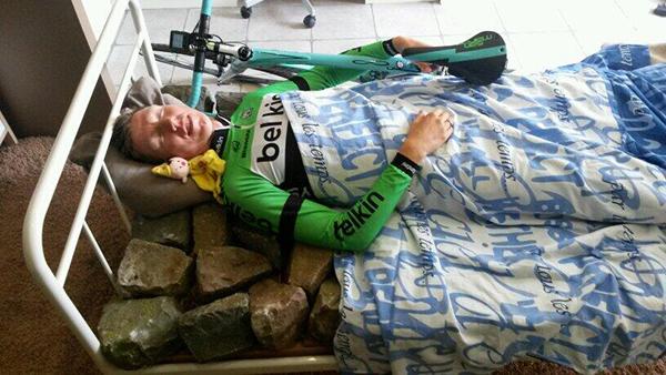 Sep Vanmarcke prende confidenza col pavé in attesa della Parigi-Roubaix 2014