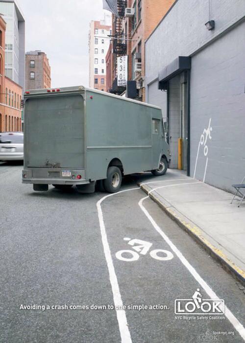 Campagna di sicurezza stradale per cilcisti a New York